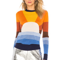 Stoned Immaculate Cali Sky Sweater in Rainbow