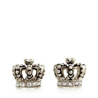 Juicy Couture | Earrings for Women - Crown Pave Stud Earrings