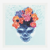 Jacky Tsai - 'Mosaic floral skull' poster | Multi-colour  Other | Womenswear | Lane Crawford