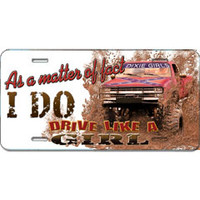 Dixie Outfitters - Burlington, NC :: As a Matter Of Fact I do Drive Like a Girl Car Tag 17070-6580