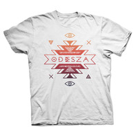 Mens Tribal Gradient Shirt – ODESZA