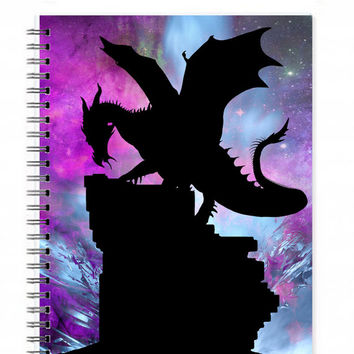 Dragon Sketchbook - Dragon Diary - Dragon Journal - Fantasy Journal - Dragon Note Book - Dragon Art Journal - Medieval Journal