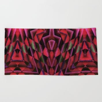 meditation Beach Towel by Jeanette Rietz