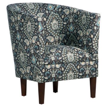 Troy Tub Chair, Moonlight, Accent & Occasional Chairs