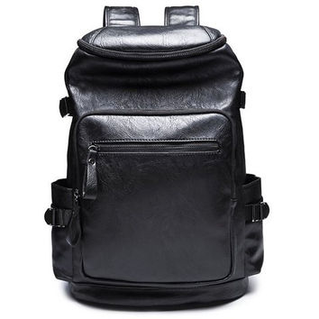 Backpack With Zipper and Black Colour Design