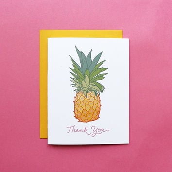 Pineapple Express Thank You Card