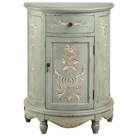 Lucille Vintage Floral Accent Cabinet | Overstock.com Shopping - The Best Deals on Coffee, Sofa & End Tables