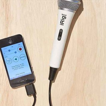 iRig Voice Microphone- White One