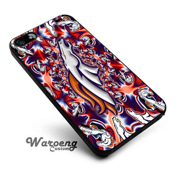 Denver Broncos colorfull iPhone 4s iphone 5 iphone 5s iphone 6 case, Samsung s3 samsung s4 samsung s5 note 3 note 4 case, iPod 4 5 Case