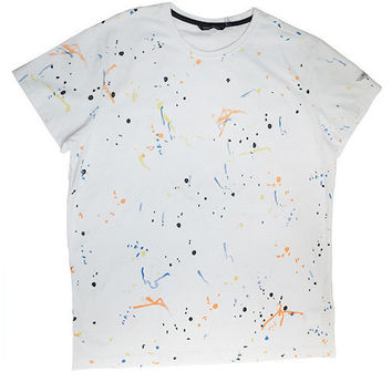 Aston Martin - Teen Boys Splatter T-Shirt