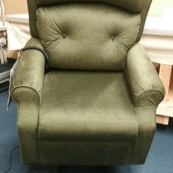 Mega Motion 3 Position Power Lift Recliner, Forest Green AS-1050
