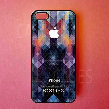 Iphone 5 Case Cool Geometric Iphone Cover, Unique Designer Apple Iphone Cases
