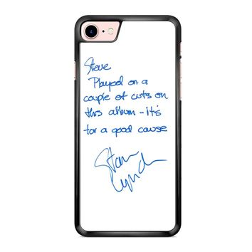 Tom Petty And The Heartbreakers Signature iPhone 7 Case