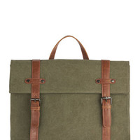 ModCloth Scholastic Camp Director Backpack in Moss