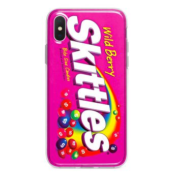 WILD BERRY SKITTLES CUSTOM IPHONE CASE
