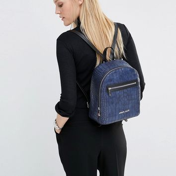 Armani Jeans Croc Style Backpack