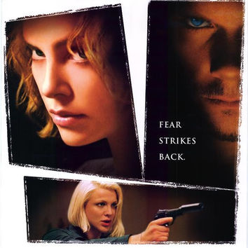 Trapped Movie Poster 27x40 Used Steve Rankin, Jodie Markell, Andrew Airlie, Courtney Love, Gerry Becker, Gary Chalk, Randi Lynne, Pruitt Taylor Vince, Dakota Fanning, Colleen Camp, Charlize Theron, Stuart Townsend, JB Bivens, Kevin Bacon, John Scott