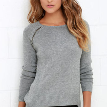 Black Swan Chloe Grey Sweater