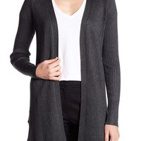 Cable & Gauge | Cozy Ribbed Open Front Cardigan | Nordstrom Rack