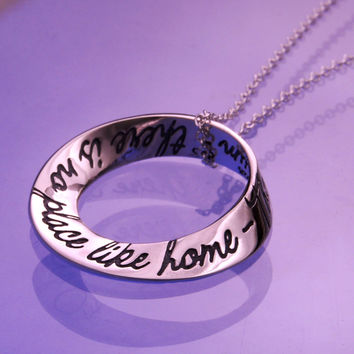 No Place Like Home Small Sterling Silver