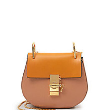 Chloé - Drew Bicolor Mini Shoulder Bag - Saks Fifth Avenue Mobile