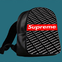 Supreme Sideways with Red Logo for Backpack / Custom Bag / School Bag / Children Bag / Custom School Bag ***