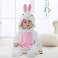 Cartoon Design Baby Long sleeve Winner Clothe Toddler Newborn Baby Boys Girls Animal Cartoon Hooded Rompers Outfits Clothes #ES