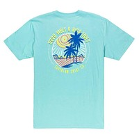 Island Vibes Tee in Blue Radiance by The Southern Shirt Co.