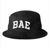 bae embroidery bucket hat