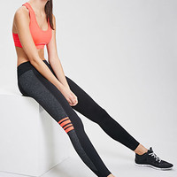 Color-Striped Workout Leggings