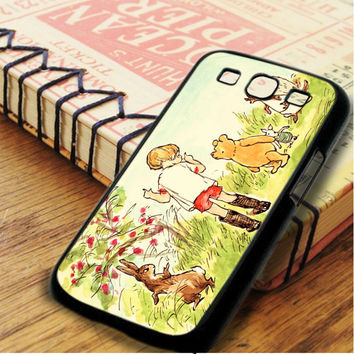 Winnie The Pooh Illustration Samsung Galaxy S3 Case
