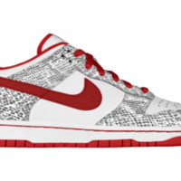 Nike Dunk Low iD Custom Women's Shoes - Red