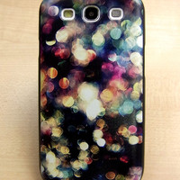 Samsung galaxy s3 case Color spots Hard samsung galaxy s3 Cover