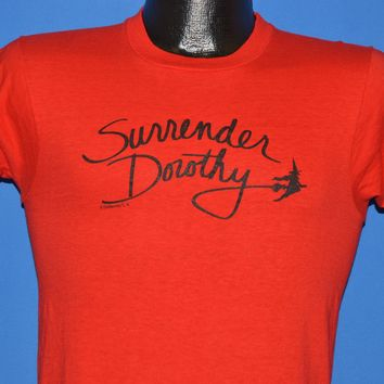 80s Surrender Dorothy Wizard Of Oz t-shirt Small