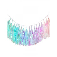 MERMAID RAINBOW TASSEL BANNER