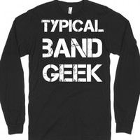 Band Geek-Unisex Black T-Shirt