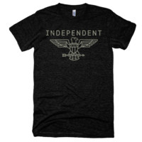 Independent Tri-Blend Short Sleeve Track/Gym Shirt
