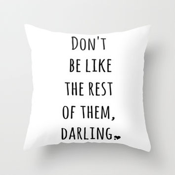 Shop Cute White Throw Pillows on Wanelo