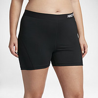 "The Nike Pro HyperCool (Plus Size) Women's 3"" Training Shorts."