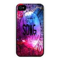 One Direction Best Song Galaxy iPhone 4/4S Case