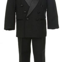 Sweet Kids Baby-Boys 4 Pc Double Breasted Tuxedo Without Tails