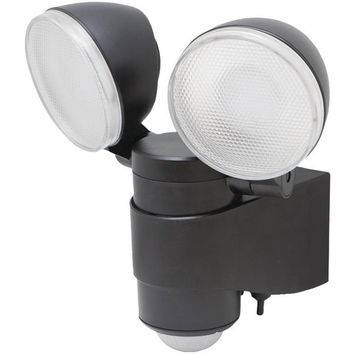 MAXSA(R) Innovations 43218 Battery-Powered Motion-Activated Dual-Head LED Security Spotlight
