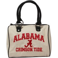 Alabama Crimson Tide Ladies Cheer Bowler Purse - Natural/Black