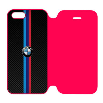 BMW M Power German Automobile and Motorcycle iPhone 5 | 5S Flip Case Cover