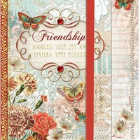 Soft Cover Bungee Journal - Friendship
