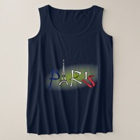 Spectacular Paris Plus Size Tank Top