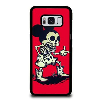 MICKEY MOUSE ZOMBIE Disney Samsung Galaxy S3 S4 S5 S6 S7 Edge S8 Plus, Note 3 4 5 8 Case Cover