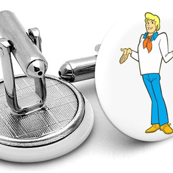 Fred Scooby Doo Cufflinks