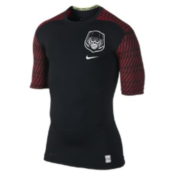 Core Compression Vaporizer 1/2-Sleeve Men's Football Shirt