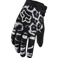 Fox Racing Youth Girls Dirtpaw Gloves - Youth Large/Black/Pink
